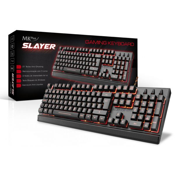 TECLADO GAMER MKPLUS TG8120SLAYER