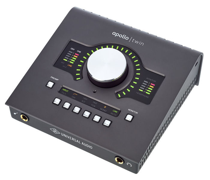 interfaces midi - Interface Áudio Apollo Twin Duo mkII
