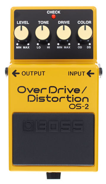 Pedal Overdrive/Distortion OS-2