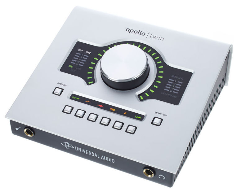 interfaces midi - Interface Apollo Twin Solo (Mac)