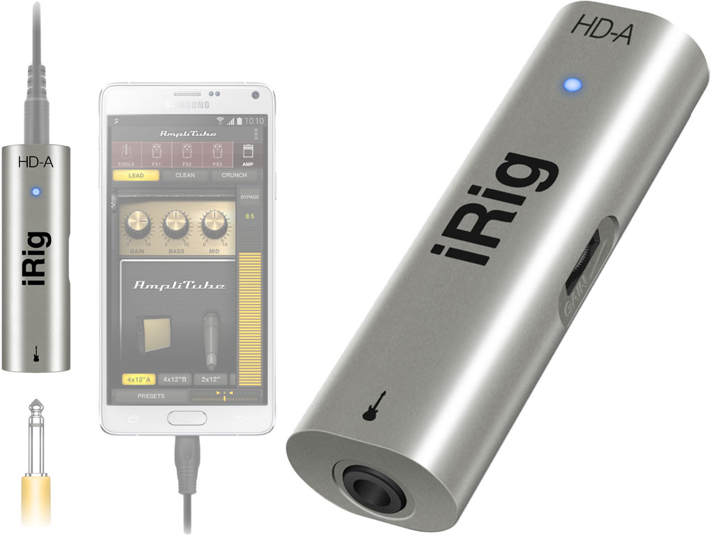 Interface Áudio Android iRig HD-A