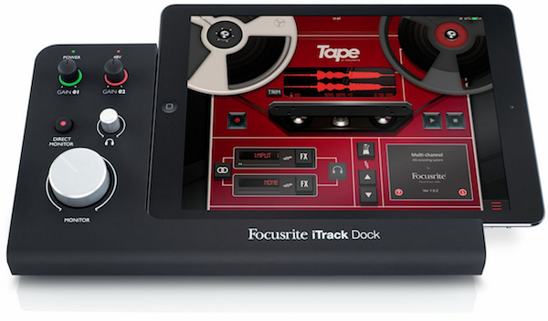 interfaces midi - Interface Áudio iTrack Dock