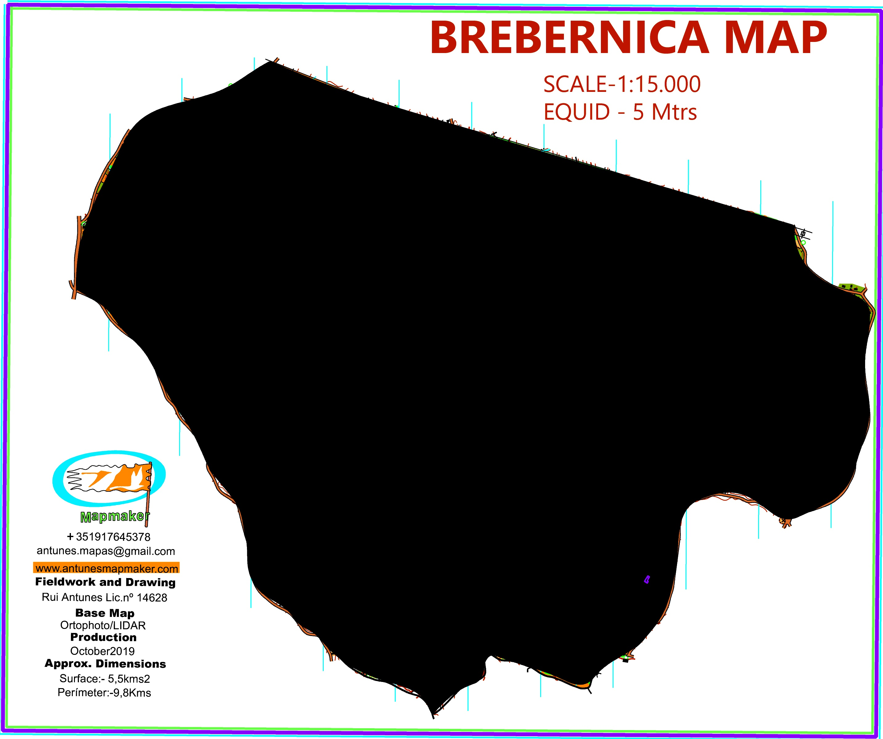 (237) Map Brebernica2019 - Croatia October2019