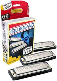 pack inicial harmonica blues