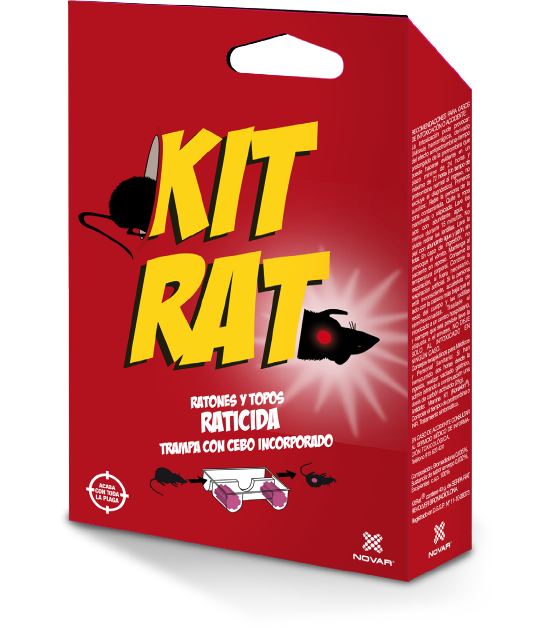KIT RAT RATICIDA / ARMADILHA COM CEBO