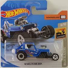 2020 HOT WHEELS 42 Willys MB Jeep - 139
