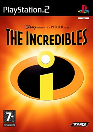 PS2 The Incredibles Os Super Heróis