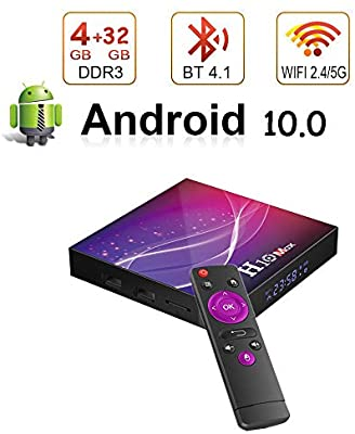 Android TV Box H10 MAX 6K 4GB/32GB Android 10.0